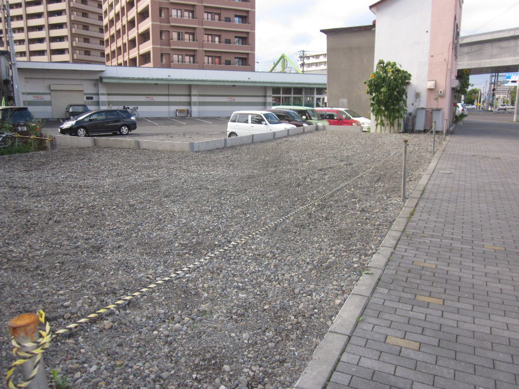 西5条  月極駐車場